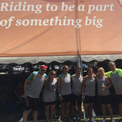McMillan Education completes the Pan Mass Challenge