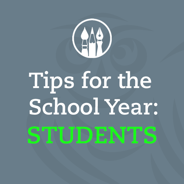 School Year Tips for Students