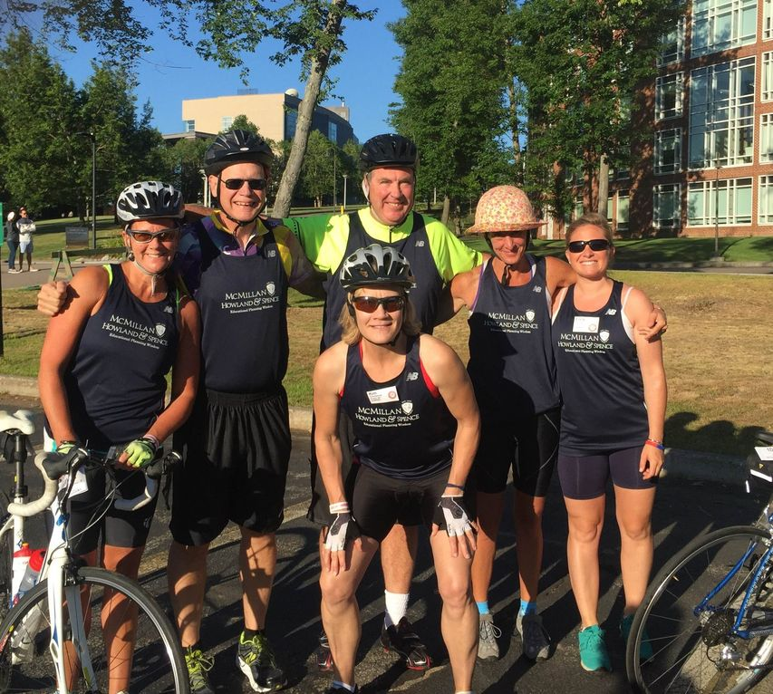 McMillan Education Team Participates in Pan Mass Challenge